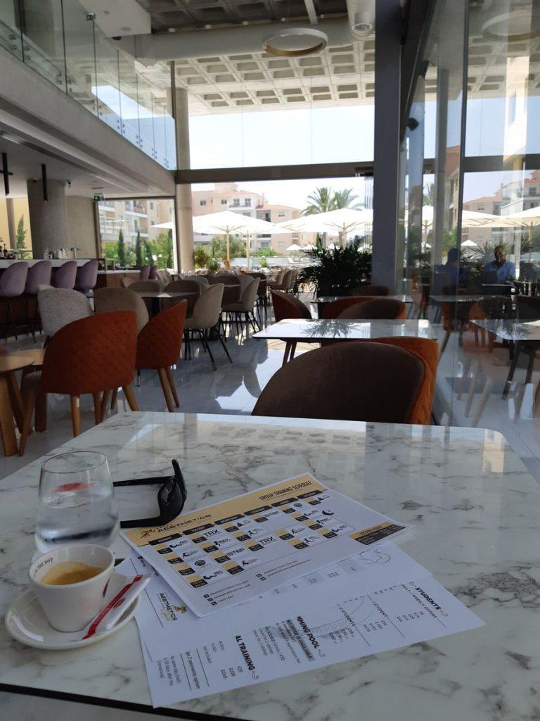 Aesthetics фитнес, кафе и ресторан в Elysia Park