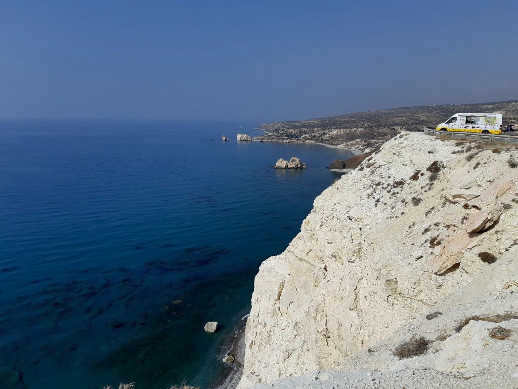 Aphrodite's rock - view point