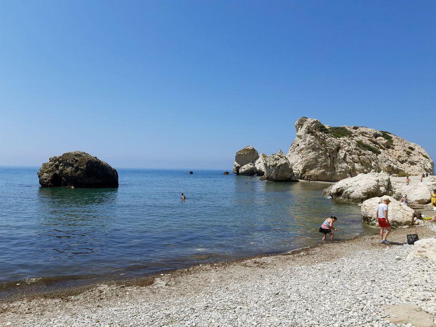 Кипр, скала Афродиты - Aphrodite's Rock