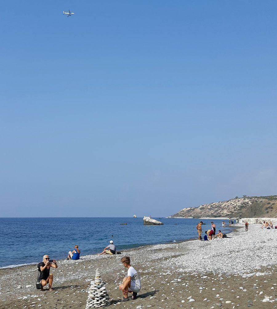 Пляж у скалы Афродиты