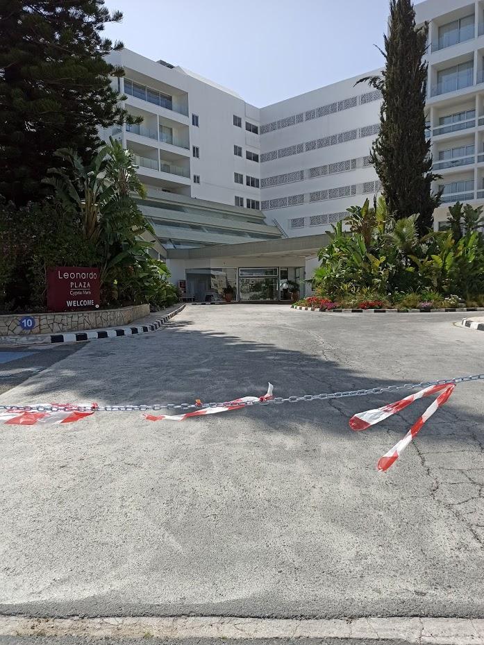 Кипр Пафос - отели закрыты из-за карантина коронавируса