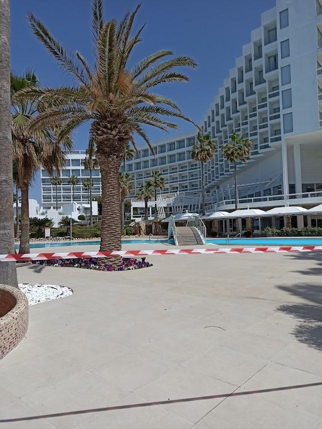 Отели Кипра закрыты из-за коронавируса