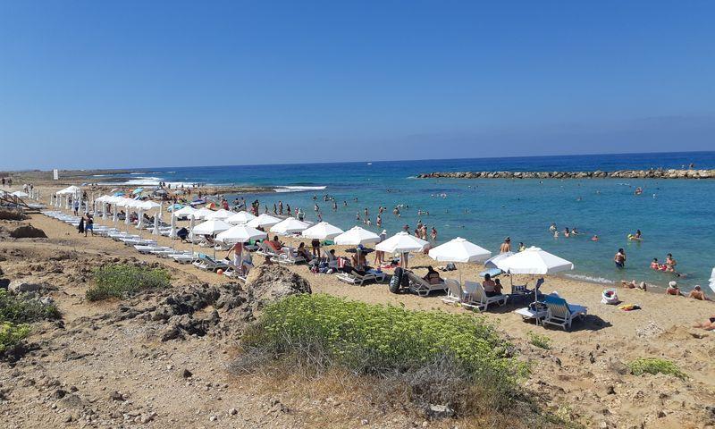 пафос пляж венус бич