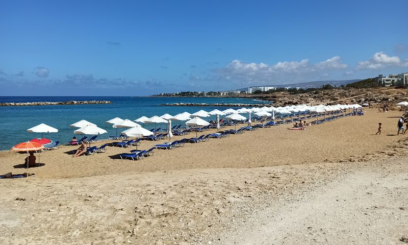 Пляжи Пафоса, личный опыт
