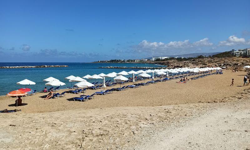 пляж венус бич в пафосе