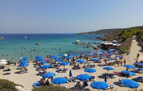 Konnos Beach Protaras Пляж Коннос Протарас